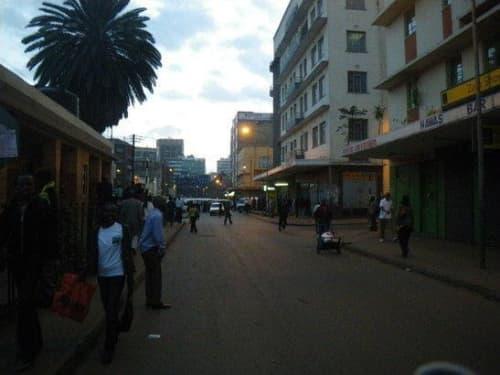 ケニアの夕方