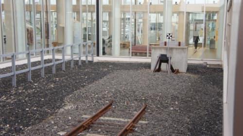 「最北端の駅」終点の線路