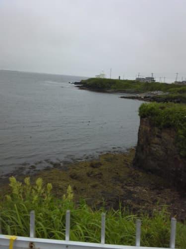 納沙布岬突端