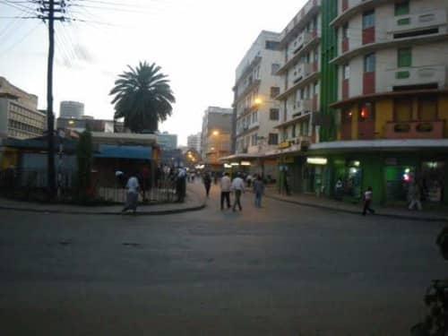 ケニアの路地