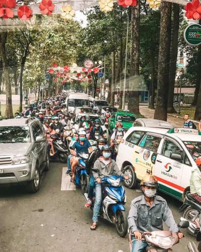 ベトナム 排気ガス