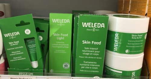 WELEDAのスキンフードシリーズ