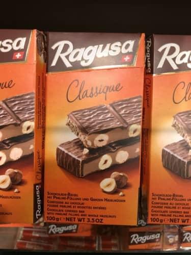 ラグーザのチョコレート