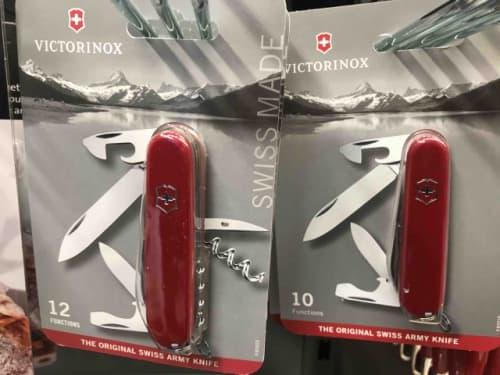 ヴィクトリノックスのマルチナイフ