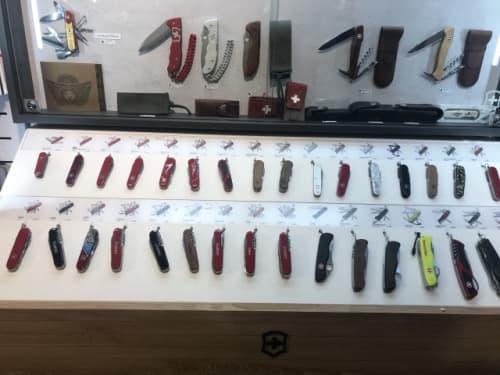 ヴィクトリノックスのナイフ