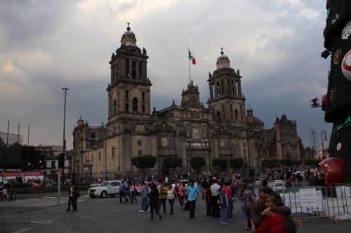 メキシコシティの風景