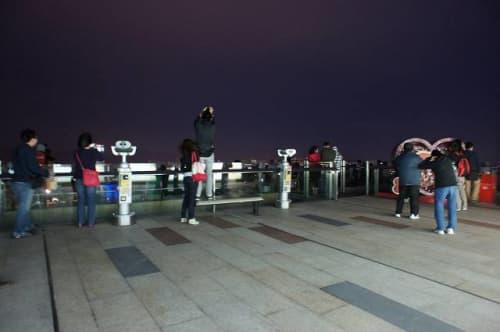 香港 春 ビクトリアピーク