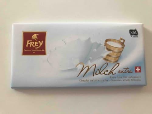 フレイのエキストラミルクチョコレート