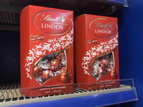 定番のリンドールチョコレート