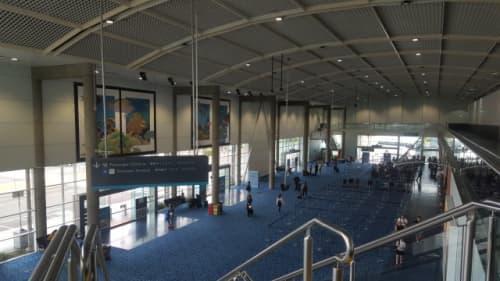 ケアンズ空港内の様子