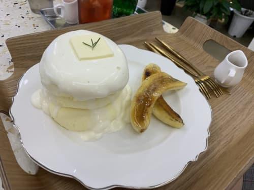 カロスキル東京スフレパンケーキ