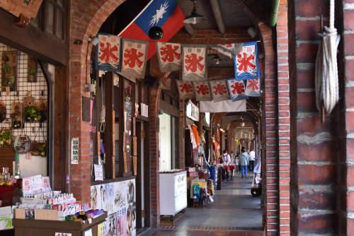 台湾の商店街