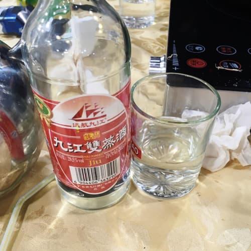 マカオの九江双蒸酒