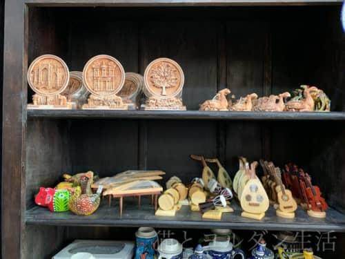 ヨルダン土産のアフガニで売られている物。