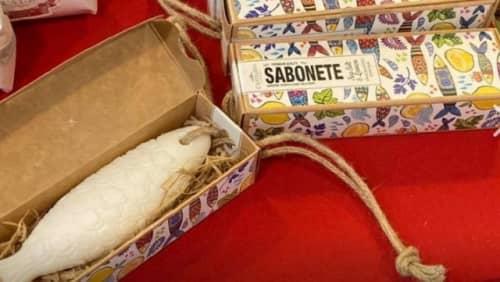 マカオの魚型の石鹸