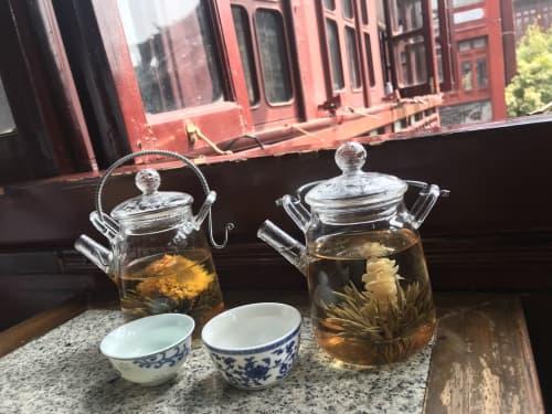 上海 お茶