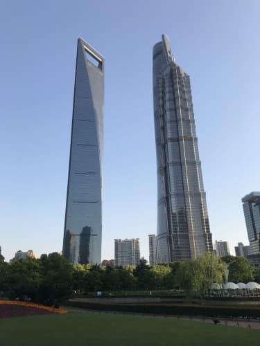 上海 超高層ビル
