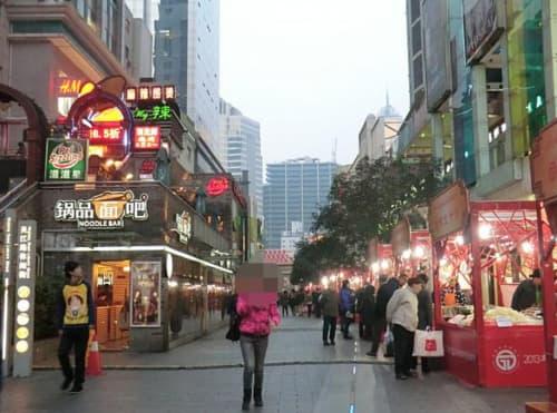 上海 屋台
