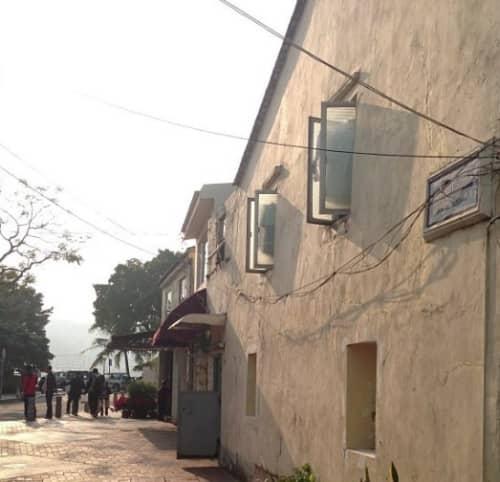 マカオの古い家