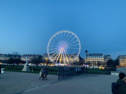 フランス 冬