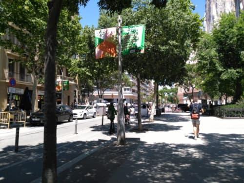 バルセロナ 街の風景