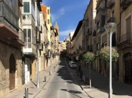 スペイン アパート群