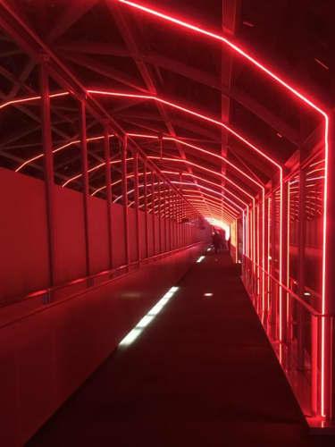 京都駅ビル・空中径路