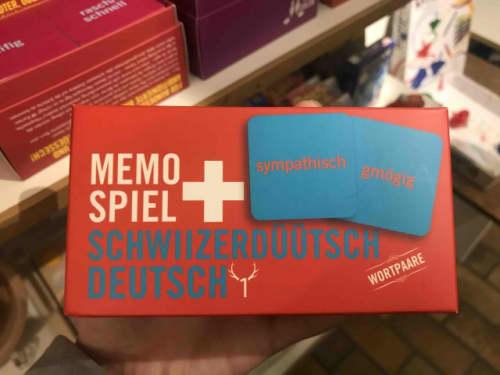 スイスドイツ語のカードゲーム