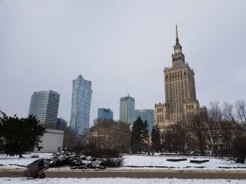 空気が汚いポーランドの冬