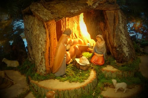 キリスト誕生シーン