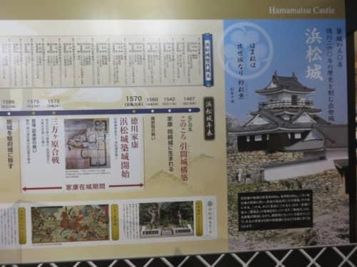 浜松城の歴史展示