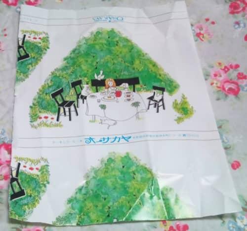 オーサカヤの包み紙