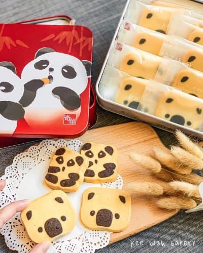 奇華のパンダクッキー