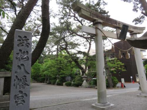 浜松八幡宮の鳥居