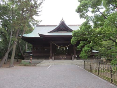 浜松八幡宮本殿