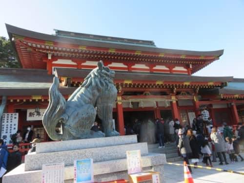 五社神社・諏訪神社拝殿