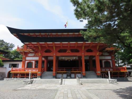 鴨江寺の拝殿