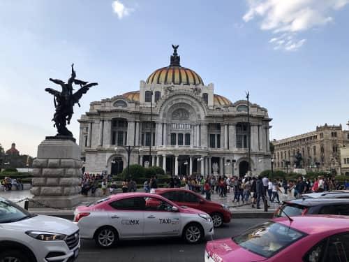 メキシコシティのタクシー