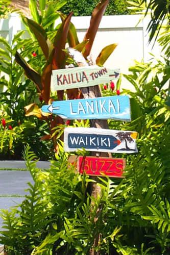ハワイ看板