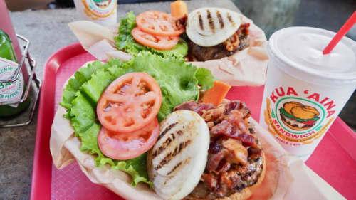 ハワイの有名なハンバーガー