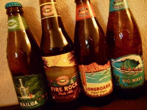 ハワイの地ビール