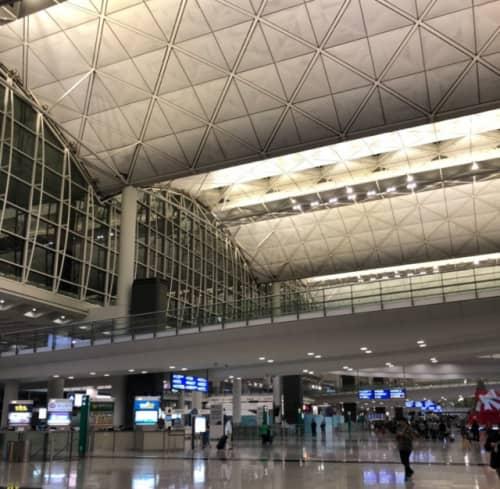 香港のチェップラックコック空港