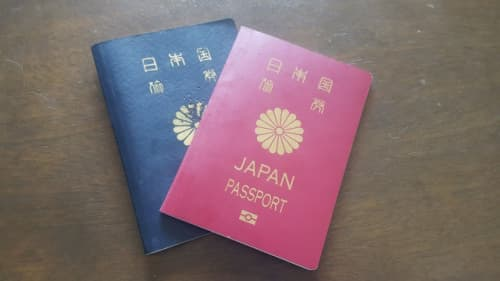 パスポートイメージ写真