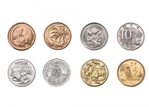 オーストラリアの硬貨