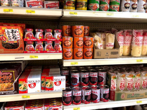 パラオのスーパー