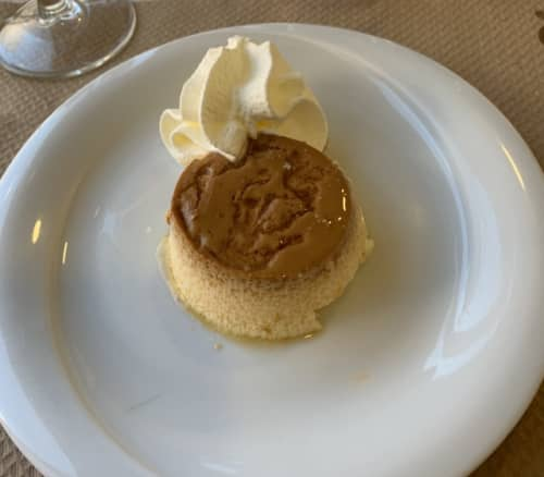 スペインのレストランにて デートディナー