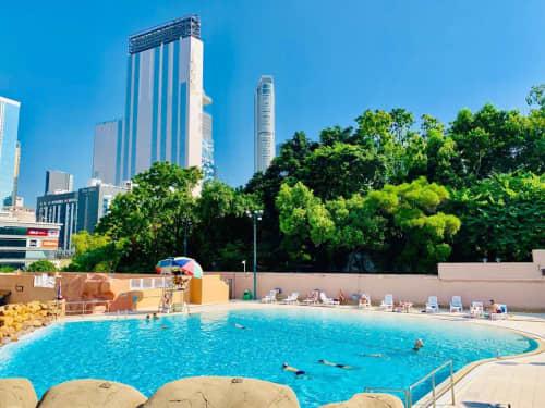九龍公園のプール