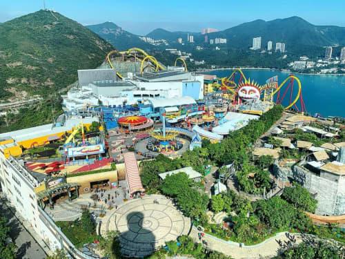 香港のオーシャンパーク