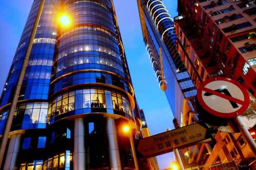 香港のランガムプレイス