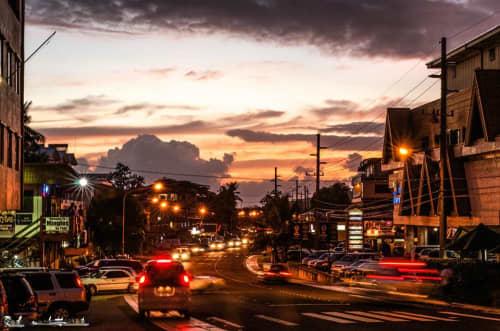 パラオのメインストリート